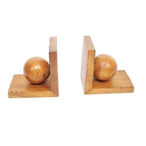 Authentic Mid-century Modern Spherical Bookends